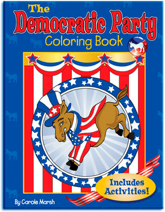 Democratic Party Coloring Book